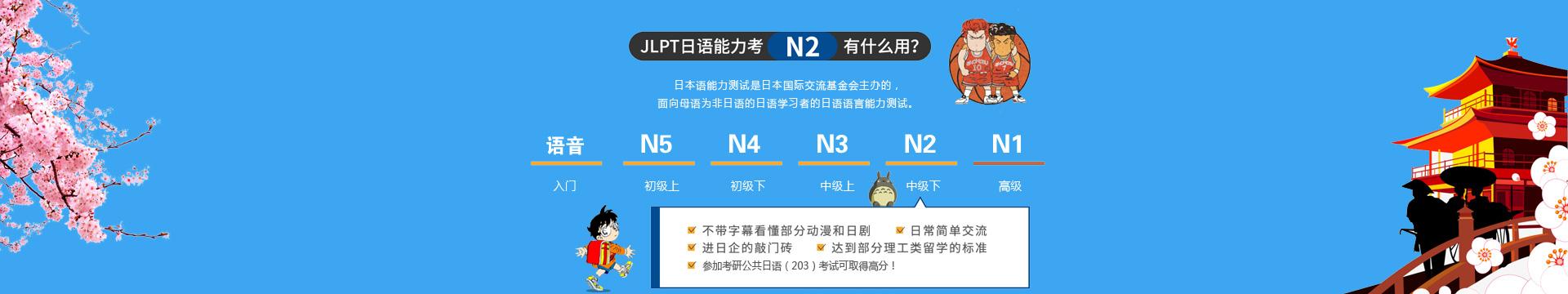 雅风小语种告诉你JLPT日语能力考试N2有什么用