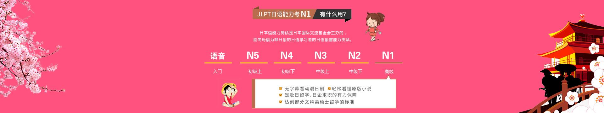 雅风小语种告诉你JLPT日语能力考试N1有什么用